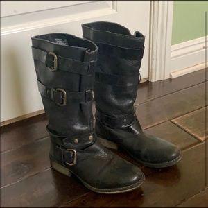Steve Madden Brihana - Slouchy Black Boot